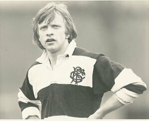 COLIN-PATERSON-BARBARIANS-INSTONIANS-amp-IRELAND-RUGBY-PHOTOGRAPH-10-034-x-8-034