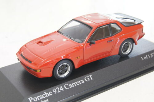 Porsche 924 Carrera GT 1981 rot 1:43  Minichamps neu /& OVP