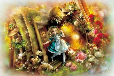 APPLEONE Jigsaw Puzzle 1000-678 Alice In Wonderland (1000 Pieces)