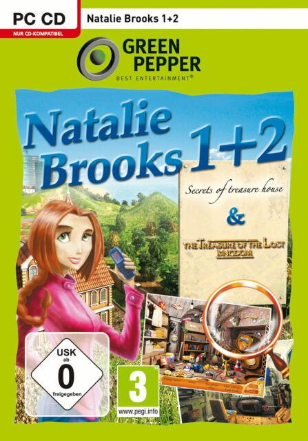 Natalie Brooks 1+2 (PC, 2010, DVD-Box) 1x gespielt , Neuwertig