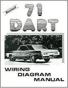 1971 71    DODGE       DART       WIRING       DIAGRAM    MANUAL   eBay