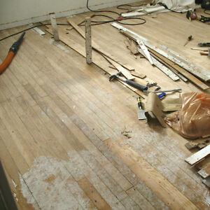 Vintage Old 1960 S Solid Wood Floor Flooring 2 Quot Wide