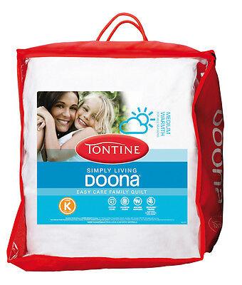 Tontine SIMPLY LIVING All Sesons Quilt Doona Duvet QUEEN SIZE Allergy Sensitive