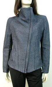 Jute Jacket Indigo Helmut Denim M Lang 6gvYf7by