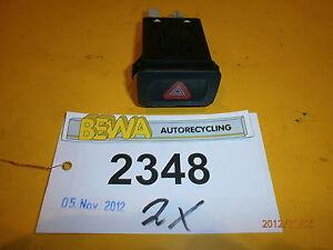 Schalter-Warnblinklicht-VW-Golf-IV-1J0953235A-Nr-2348