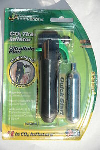 Genuine-Innovations-Ultraflate-Plus-Bike-CO2-Tire-Inflator-Air-Pump-Carry-Small