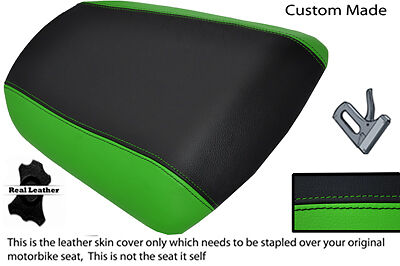 GREEN&BLACK CUSTOM 98-03 FITS KAWASAKI NINJA ZX6R 636 A1P REAR SEAT COVER