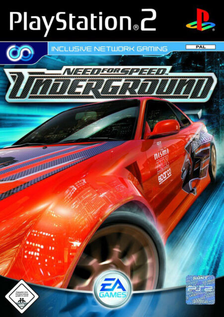 PS2 - Playstation 2 Need for Speed Underground (Sony) Spiel in OVP - Neuwertig