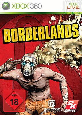 Borderlands Xbox 360, versandkostenfrei, Luftpolsterumschlag