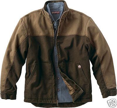 DRI DUCK Horizon Two-Tone Cotton Canvas Jacket 5089 S-3XL Tobacco or Black