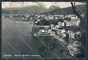 Napoli Sorrento Foto FG cartolina D6006 SZD - Italia - Napoli Sorrento Foto FG cartolina D6006 SZD - Italia