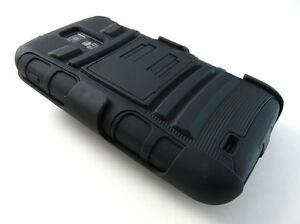 BLACK-Heavy-Duty-Case-Cover-Belt-Clip-Holster-Samsung-Galaxy-S-II-T989-Tmobile