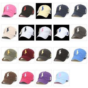 Big-Pony-Baseball-Ball-Cap-Outdoor-Sports-Polo-Fashion-Hat-Sunvisor-Unisex-GTM
