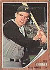 1962 Topps Bob Skinner Pittsburgh Pirates #115 Baseball Card