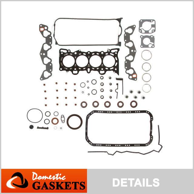Fit 92-95 Honda Civic VX EX De So 1.5 1.6 SOHC MLS Full Gasket Kit D15Z1 D16Z6