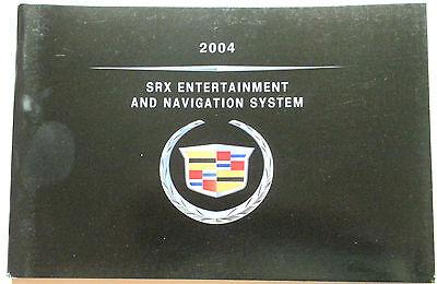 GM 2004 Cadillac SRX Navigation Manual #25752008A