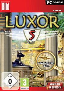 Luxor 5 (PC, 2009, DVD-Box) - Mengerskirchen, Deutschland - Luxor 5 (PC, 2009, DVD-Box) - Mengerskirchen, Deutschland