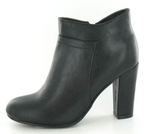 WHOLESALE Ladies Fashion SPOTON Mid Heel Ankle Boots /> Sizes 3-8 x14prs F5949