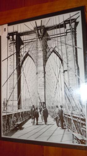 Brooklyn Bridge Photo Jigsaw Puzzle Image 1898 The Nice Card Company 500pc NIB