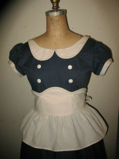 Custom Made to order Little Sister The Bio Shocke Dress Shock and Apron