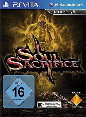 Soul Sacrifice (Sony PlayStation Vita, 2013, Keep Case)