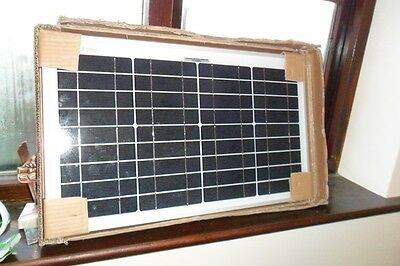 NEW 20W 12v Energy+ Solar Battery Charger - Polycrystalline - 20 watt TUV ISO UK
