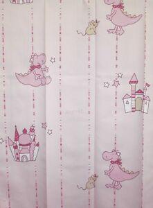 gardine esprit dino vorhang schlaufenschal deko kinderzimmer rosa ... - Deko Vorhang Kinderzimmer