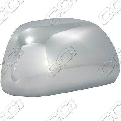 TOYOTA TACOMA CHROME MIRROR COVERS FITS 2012-2013 WITH OUT TURN SIGNALS