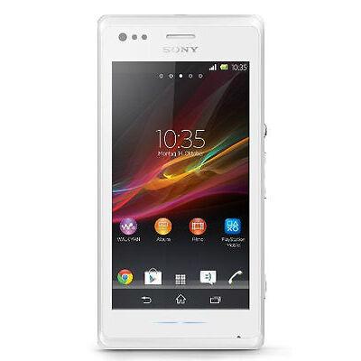 Sony  Xperia M dual - 4 GB - White - Smartphone