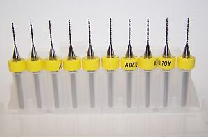 10-NEW-0-70mm-0276-Printed-Circuit-Board-Drills-PCB-100-0276-400