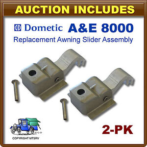 A-amp-E-Replacement-Awning-Slider-Assembly-w-Rivet-2-Pack-8000-8500-9000-830463