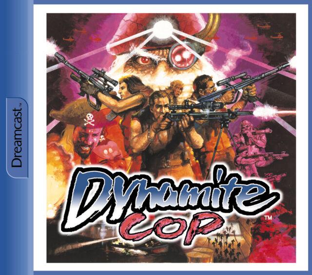 Dynamite Cop - Sega Dreamcast/DC Spiel - OVP & Anleitung - Neuwertiger Zustand