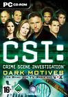 CSI - Crime Scene Investigation 2 - Dark Motives (PC, 2004, DVD-Box)