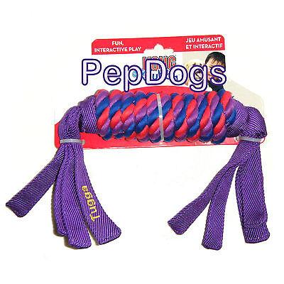 KONG Tugga Wubba LARGE Flappy Fetch Tug of war Toss Nylon Rope Exercise Dog Toy