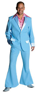 70's Deluxe LIGHT BLUE Pimp / Disco / PROM Suit , sizes 38-50 ...