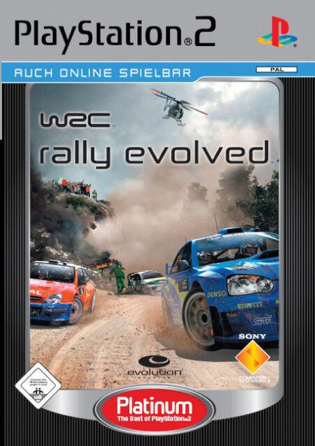 WRC Rally Evolved (Sony PlayStation 2, 2006, DVD-Box)