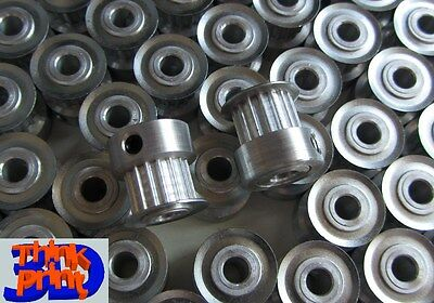 T2.5-16 aluminium pulleys: RepRap Prusa Mendel, Huxley, MendelMax, Rostock etc