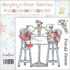 Crafters Companion 124245 Humphreys Corner Unmounted Rubber Stamp Set 3.75 in. x 4 in. -Friends Fore...
