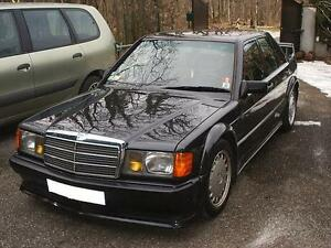 Mercedes benz 190 w201 yellow foglights headlights mb for Mercedes benz 190e headlights