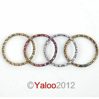 FREE SHIPPING 12pcs Mixed Above The Knuckle Twisted Band Ring 260464 Hot Sell