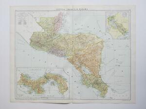 Map Honduras Nicaragua El Salvador Panama Costa Rica Large - Nicaragua map honduras