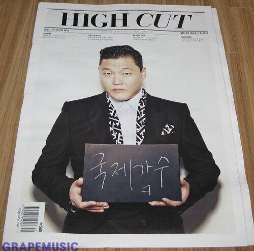 HIGH CUT VOL.87 BEAST PSY KOREA TABLOID NEW
