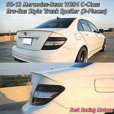 BB Style Trunk Spoiler Wing (ABS) Fit 08-14 Mercedes-Benz W204 C-Class