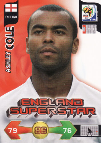 Adrenalyn XL World Cup 2010 England Germany Trading Cards Pick From List