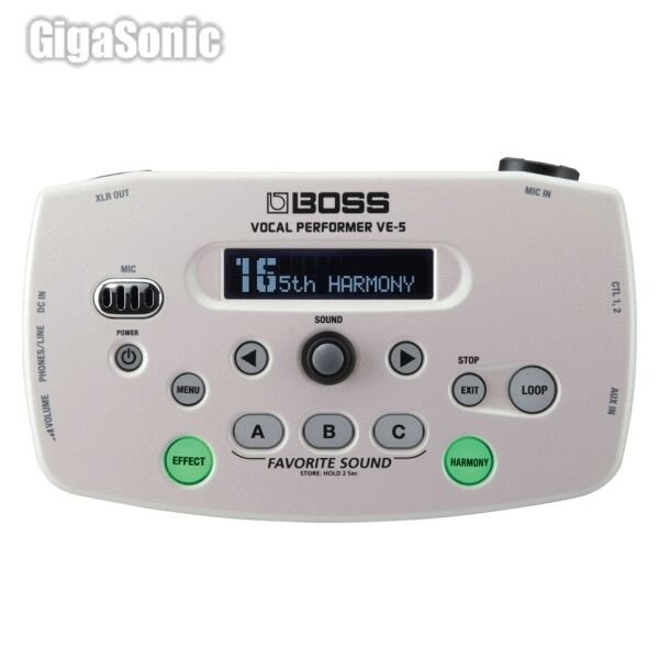 boss ve 5 vocal guitar effect pedal for sale online ebay. Black Bedroom Furniture Sets. Home Design Ideas