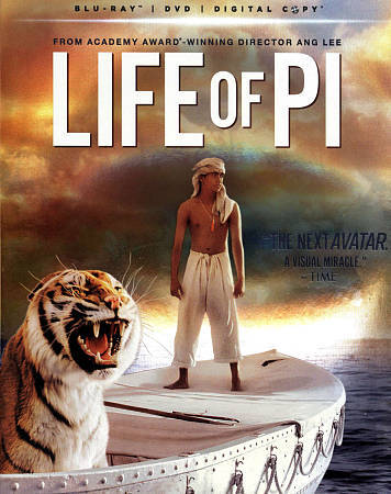 Life of Pi (Blu-ray Disc ONLY, 2013)