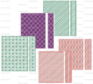 CUTTLEBUG-A2-and-5X7-EMBOSSING-FOLDERS-and-BOARDER-BRAND-NEW