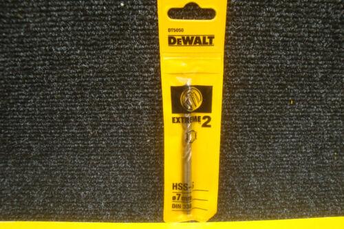 DeWalt DT5050 Extreme 2 7 mm HSS-G Metal Drill Bit