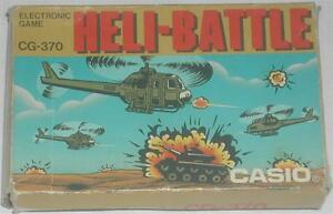 Casio-Heli-Battle-CG-370-Electronic-Game-1987-With-Box