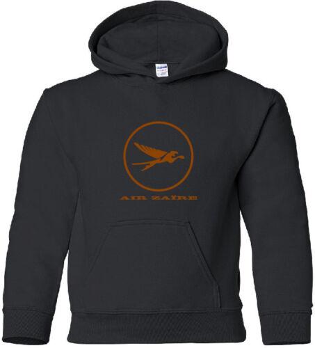 Air Zaire Retro Logo Congolese Airline Aviation Hoody